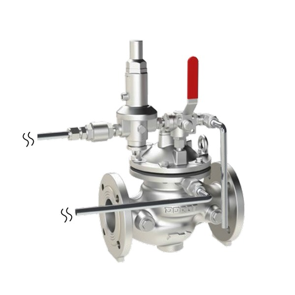 ZP/HM - ZERO PRESSURE FOAM CONCENTRATE, HYDRAULIC PILOT ACTUATED, DOUBLE CHAMBER SLAVE CONTROL VALVE