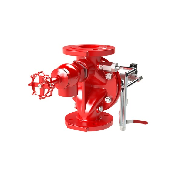 DE\EL[CN] - ELECTRICALLY ACTUATED MANUAL-RESET DELUGE VALVE (CHINESE STANDARD)