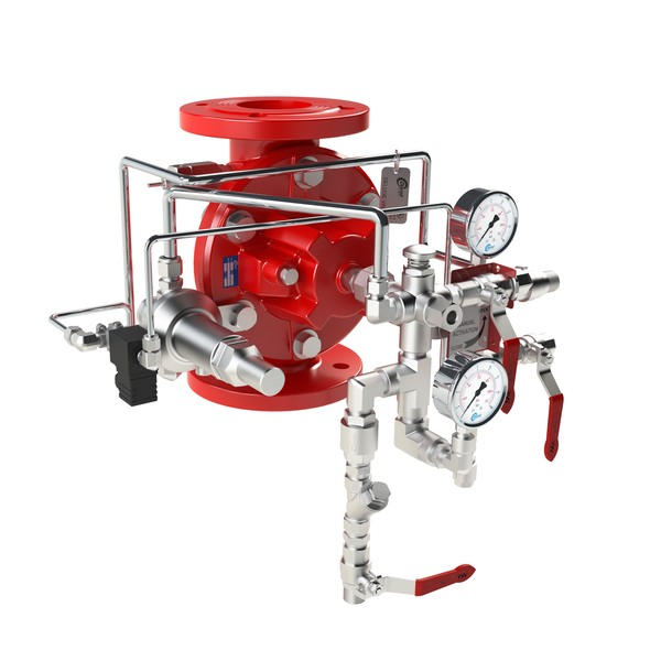 DE\EL\PORV-MR - Electrically or Pneumatically Actuated, Manual-Reset  Deluge Valve