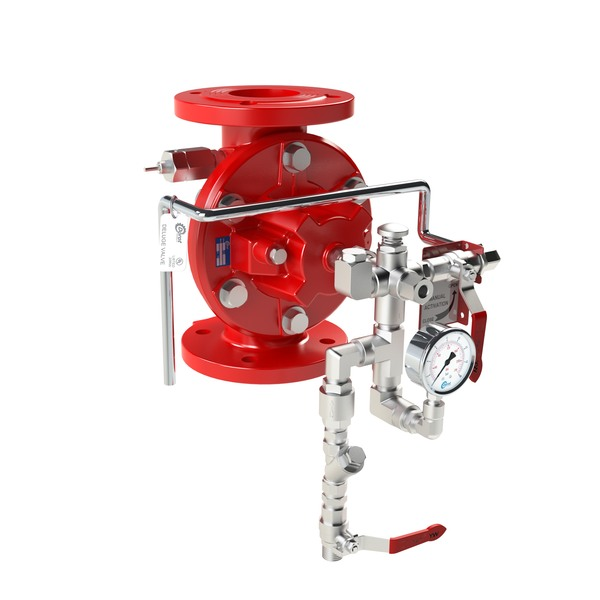 DE\HM-MR - Hydraulically Actuated  Manual-Reset Deluge Valve