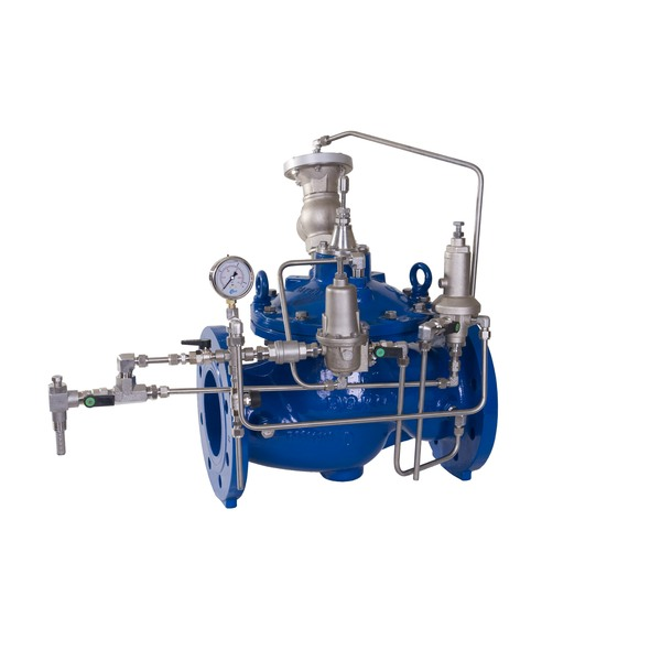 RE - Surge-anticipating valve / Hydraulic activation - Series 300